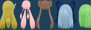 Um what hair do you want the most? ~Closed by Pink-Heart-Pri