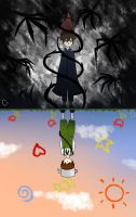 OtGW - Two Worlds by ooodlesofdoodles