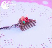 Sweet Chocolate Cake Mania Charm By Moonbunny List by CuteMoonbunny