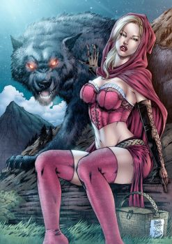 Red Riding Hood_Color by MARCIOABREU7