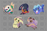 Chibi Time! - Pokemon Sun and Moon by Paper-Rabbit