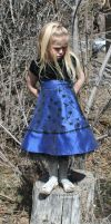 Blue Dress Lexi 73 by Falln-Stock