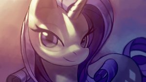 Rarity wallpaper size by aruurara