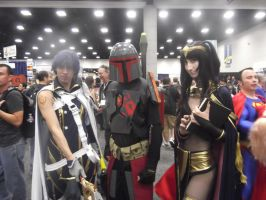 Comic-Con 2013 Crossover. by N7certified