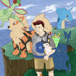 Pokemon Profile Commission by danny-spikes