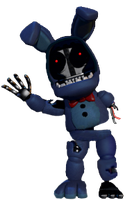 Adventure withered bonnie full body by JoltGametravel