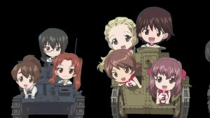 four tanks in chibi style part 2 by lordsjaak