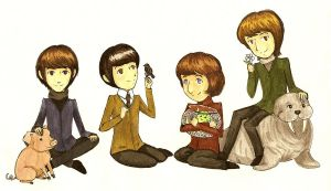 The Beatles by FG-Twins