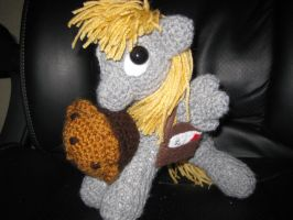 My Little Pony - Derpy Hooves plush by kaerfel