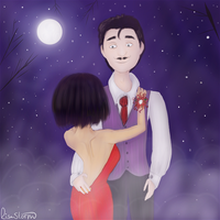Bella and Mortimer: Prom by RisaStorm