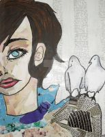 Two Doves by Naddchen