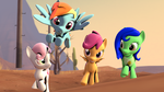 Race Of The Fillies by Legoguy9875