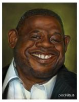 Forest Whitaker by plaidklaus