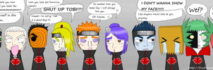 Akatsuki turned into Gai!! xD by iKushina