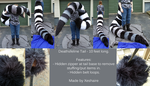 Deathsfeline Tail by Xeshaire