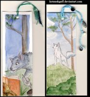 Forest life bookmarks by kotenokgaff