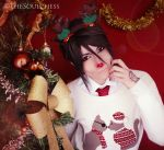 Sebas the red nosed butler~ by Ayla1991