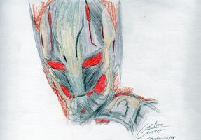 Ultron-Age of Ultron by CristianGarro