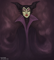 Maleficent by TallyTodd