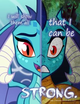 MLP - Two Sides of Ember by Starbat