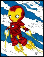 Little Iron Man by OdditiesByErnie