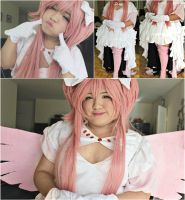 Goddess Madoka cosplay preview by lovelotzz