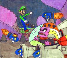New Super Luigi Land: The Final Battle by Villaman89