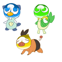 please choose your first PKM by 00freeze00