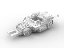 3D lego model by scyleung