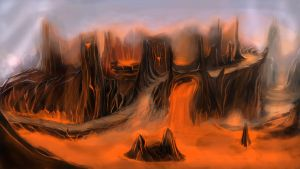 Lava Concept by CalabriaArt