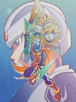 Capcom All Stars: Mega Man Zero by badokami