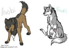 Wolfies 8D by tomahachi12