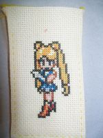 Sailor Moon Cross Stitch by yumeleona23