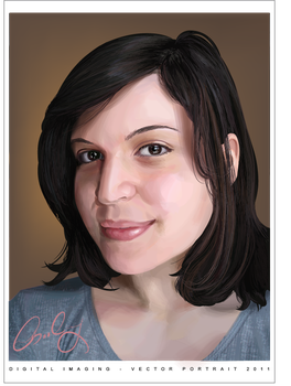 Vector Portrait by rainytown