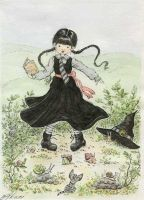 Mildred. The Worst Witch. by akari-hino