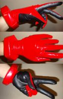 Asuka plugsuit gloves WIP by nyunyucosplay