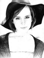 Emma Watson by flying-muffin