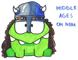 Middle Ages Om Nom by YouCanDrawIt