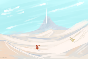 Late night Journey fanart by VCR-WOLFE