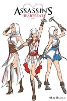 Assassin girls by uuyly