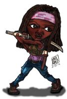 Michonne by UrsusOmar