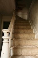 Abandoned House - Staircase 1 by stockinthecorridors