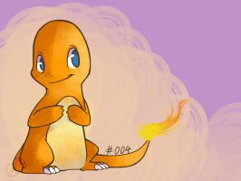 #004 Charmander by lagendarylugia