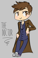 The 10th Doctor by Meireich