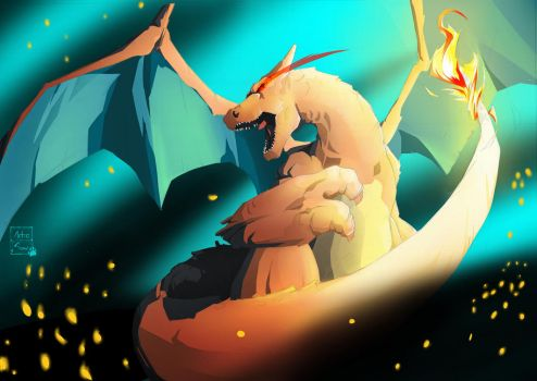 Charizard by Artic-Snow