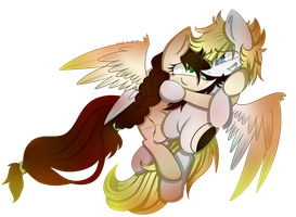 Huggles! by scootaloocuteness