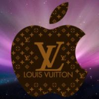 Louis Vuitton and Apple by T0j