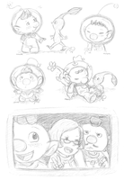 Pikmins by Rainmaker113