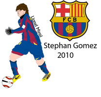 lionel messi 2 by stephangomez
