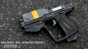 HALO REACH M6G REPLICA by JohnsonArms